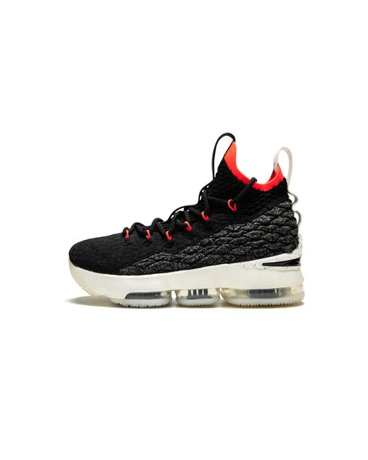 Nike - Black Lebron 15 (gs) for Men - Lyst ... bc6aacc07