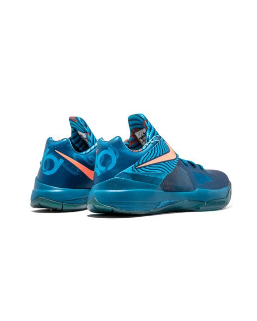 f4938f91174e Lyst - Nike Zoom Kd 4 in Blue for Men - Save 24%