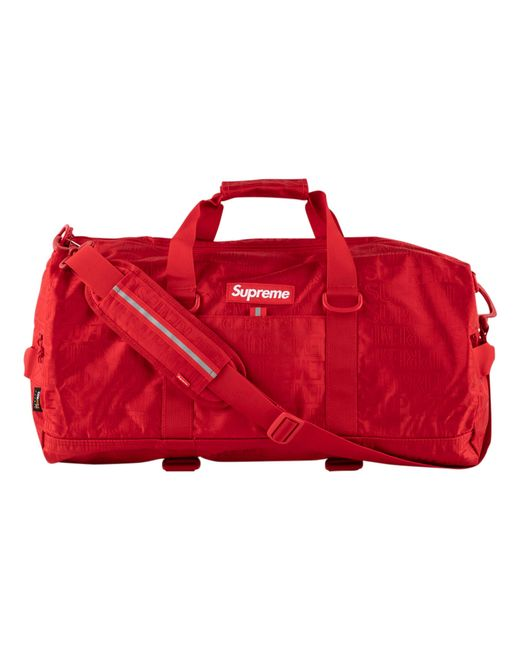 266c34bfc509 Supreme - Red Duffle Bag for Men - Lyst ...