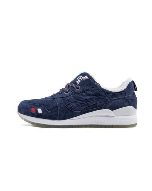 Mantenimiento genio eximir  Asics Leather Gel-lyte Iii Kith X Moncler Sneakers in Navy/White ...