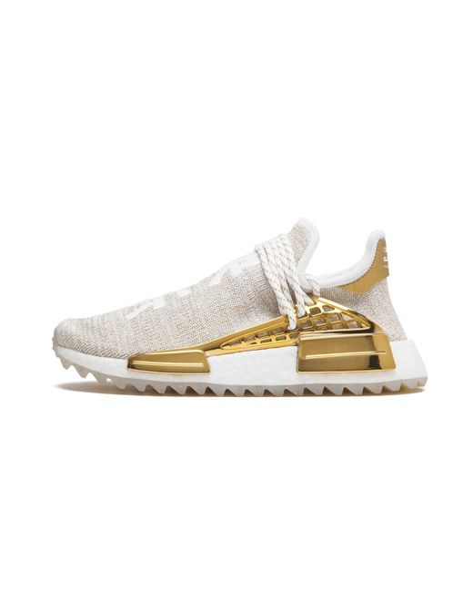 Inválido Revolucionario pastel  adidas Pw Hu Holi Nmd Mc 'china Exclusive' Shoes - Size 7.5 in Gold  (Metallic) for Men - Lyst