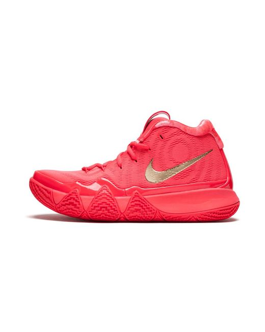 4a13905aedef Lyst - Nike Kyrie 4 in Red for Men - Save 48%