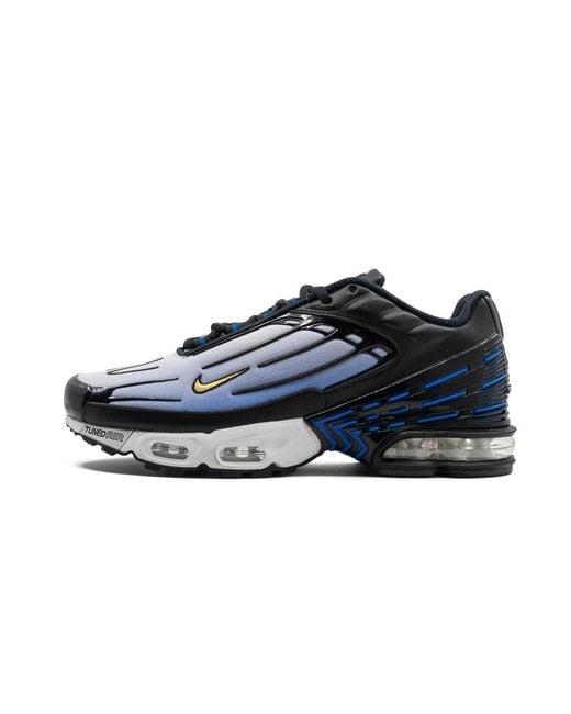 Nike Air Max Plus 3 Hyper Blue In Black For Men Lyst