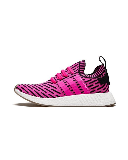 Adidas Nmd R2 Pk Shoes Size 6 5 In Black Pink White Pink For
