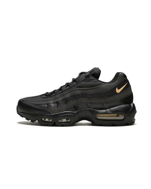 Nike Men's Air Max 95 Premium SE Shoes: Black Metallic