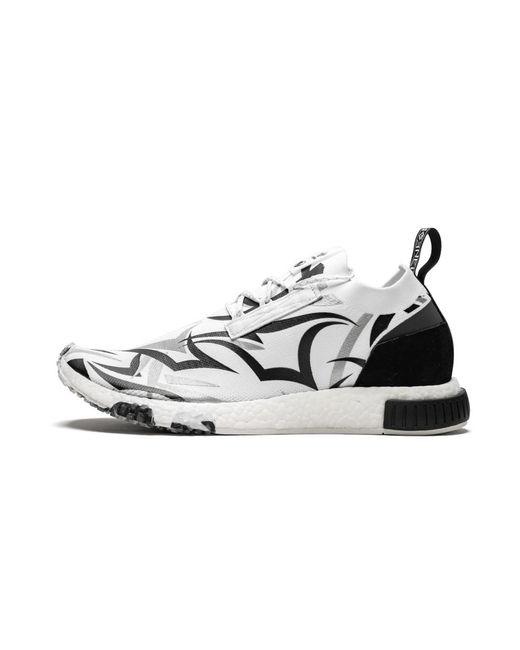 promo code 608b1 34c39 Men's White Nmd Racer Juice Shoes - Size 5