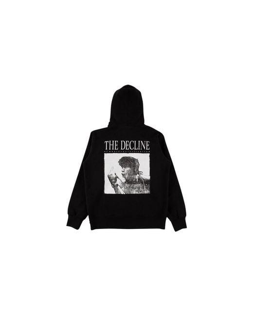 efe017c8 Supreme Decline Hooded Sweatshirt in Black for Men - Save 12% - Lyst