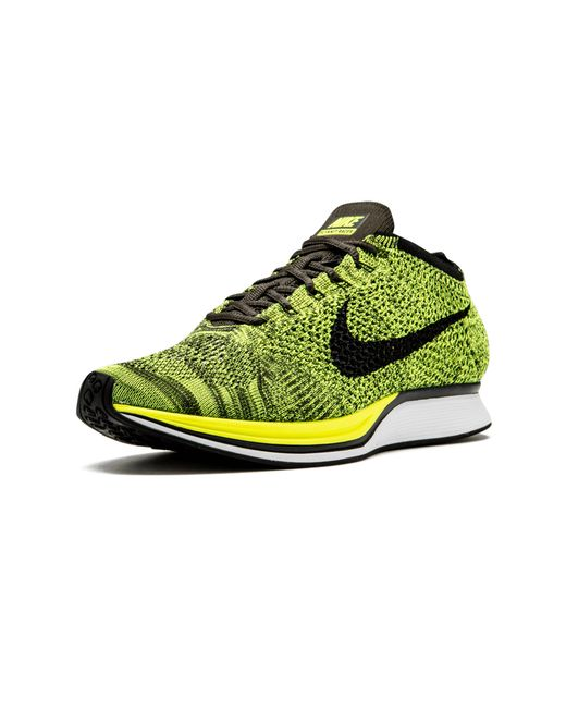 d7f41c35b6e19 ... Nike - Yellow Flyknit Racer for Men - Lyst ...