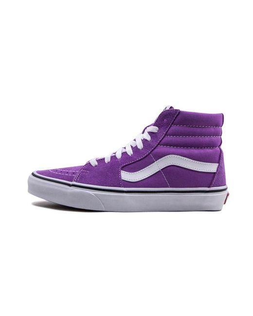 Vans Sk8-hi in Purple for Men - Lyst