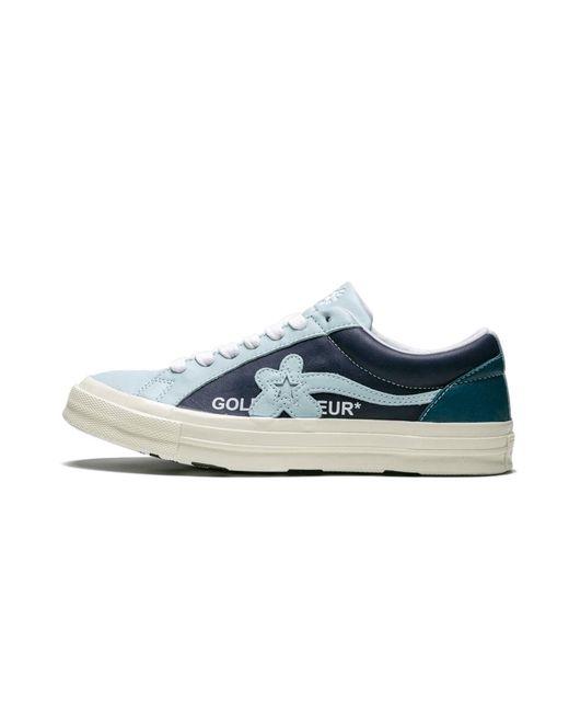 Converse Leather Ox Golf Le Fleur Shoes Size 9 5 In Blue For Men Lyst