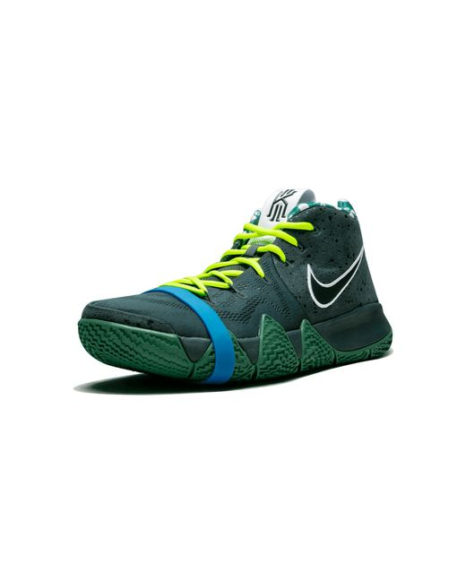 bd84a9c14bcf ... low price nike green kyrie 4 tv pe 15 for men lyst 6aac4 40168