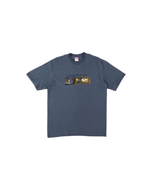 Supreme Blue Dog Sh*t T-shirt 'fw 17' for men