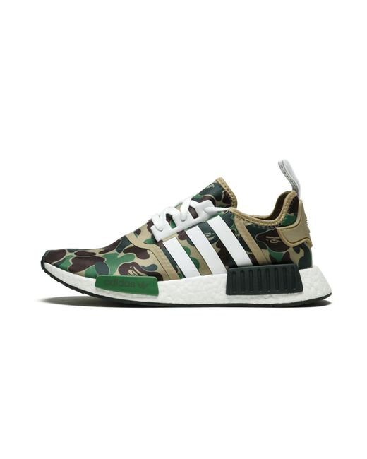 Adidas Nmd R1 Bape Bape In Green Camo Green For Men Lyst