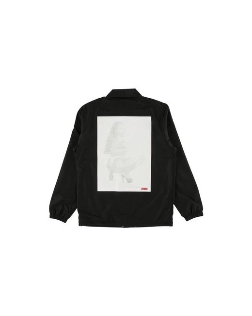 4eb3e959 Supreme Digi Coaches Jacket 'ss 17' in Black for Men - Lyst