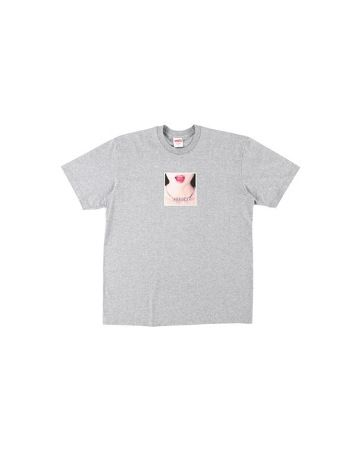 Supreme - Gray Necklace Tee - Lyst