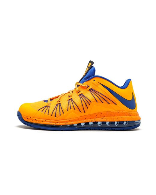 Premedicación Email Calma  Nike Air Max Lebron 10 Low Shoes - Size 11 in Orange for Men - Lyst