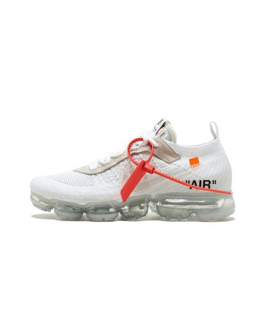 e5d557690844e Lyst - Nike The 10   Air Vapormax Fk in White for Men