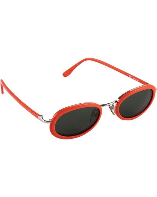 Supreme Orange Eclipse Sunglasses 'ss 17' for men