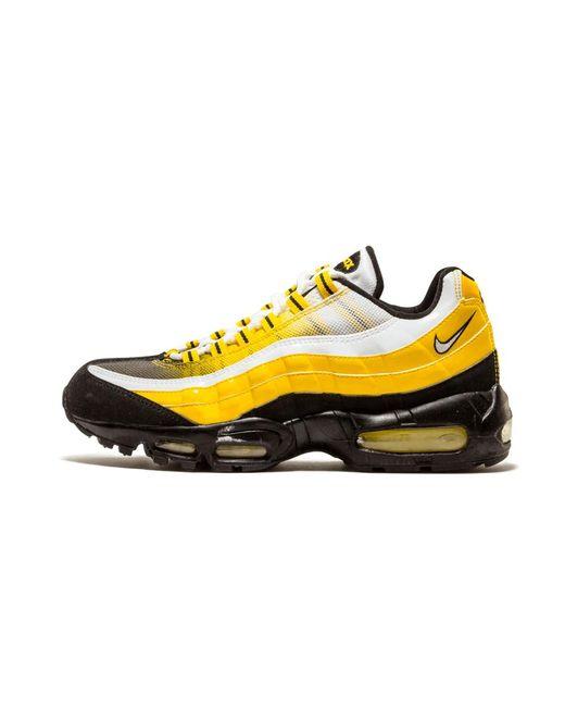 wiele modnych 100% najwyższej jakości nowe przyloty Men's Yellow Air Max 95 - Size 8.5