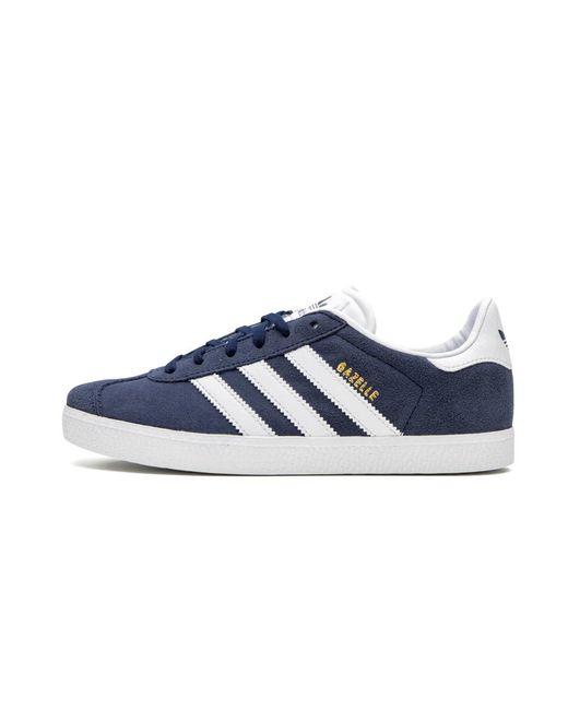 Adidas Originals Blue Originals Gazelle Suede Sneakers for men