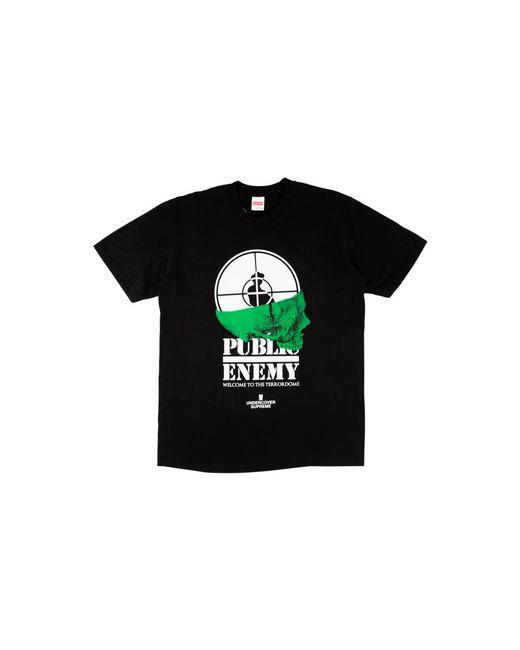 696ccb1b Supreme Udc Public Enemy Terrordome T-shirt 'ss 18' in Black for Men ...