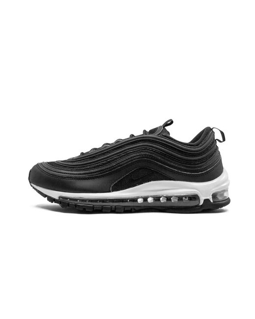 Nike Rubber Womens Air Max 97 Shoes Size 11w in Black