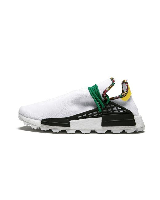 Men's Pw Solar Hu Nmd 'inspiration Pack White' Shoes Size 4