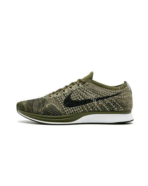9485c5ce1464 Nike Flyknit Racer in Green for Men - Save 10% - Lyst
