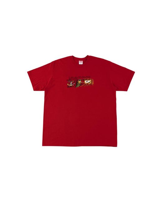 Supreme Red Dog Sh*t T-shirt 'fw 17' for men