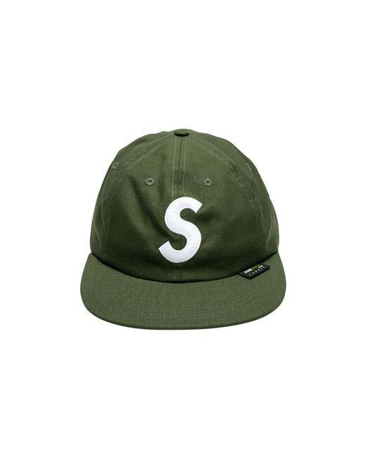 40f74ddf Supreme Cordura S Logo 6-panel Cap 'fw18' in Green for Men - Lyst
