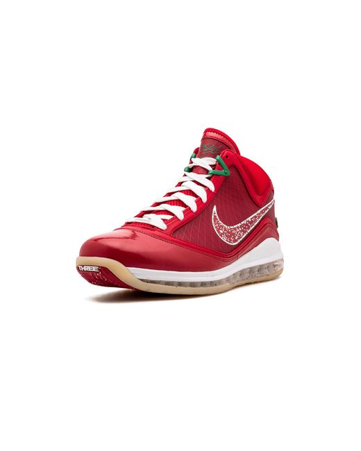 separation shoes cbcbf eb60f ... Nike - Red Lebron 7 Xmas Sample for Men - Lyst ...