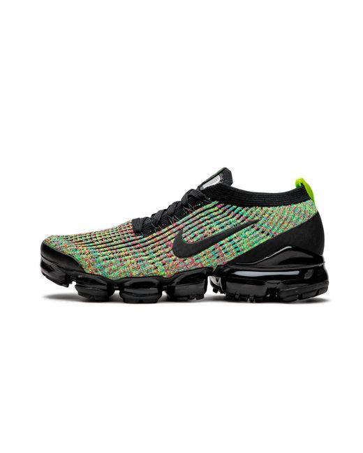 nike women's air vapormax flyknit 3 shoes black