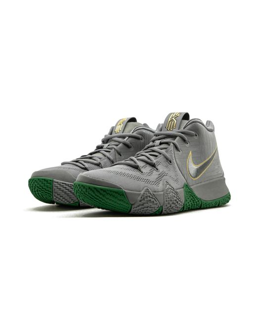 best loved 4314f 261bb ... discount code for nike gray kyrie 4 for men lyst a5b3b 3c159