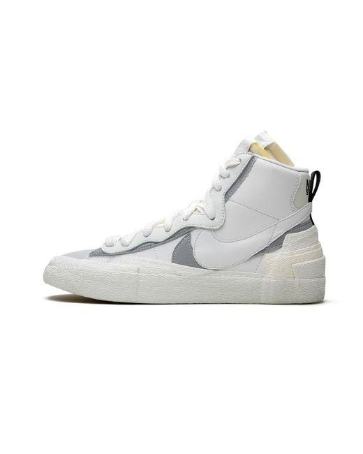 blazer triple white