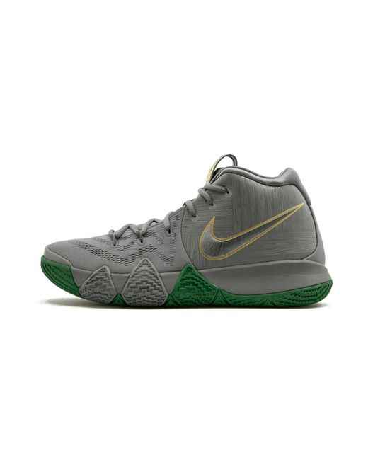 Suave Goma de dinero Grabar  Nike Kyrie 4 'city Of Guardians' Shoes - Size 13.5 in Grey (Gray) for Men -  Save 54% - Lyst