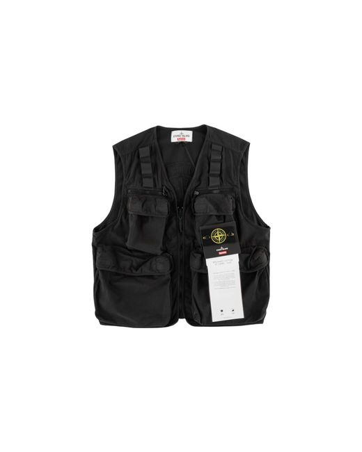 69296fc7 Lyst - Supreme Camo Cargo Vest in Black for Men