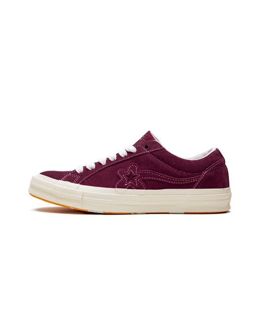 Converse One Star Ox Golf Le Fleur Mono Red Shoes Size 7 5 In Purple For Men Lyst