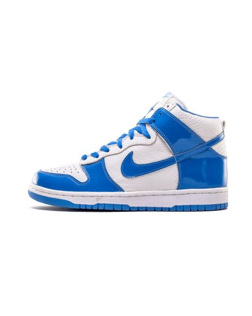 brand new bc3cb f8b28 Nike - Dunk High White carolina Blue for Men - Lyst