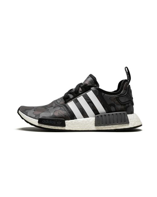 Adidas Nmd R1 Bape Black Camo Shoes Size 9 5 For Men Save