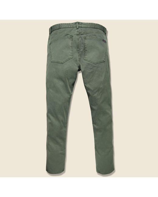 Faherty Brand Cotton Comfort Twill Jean Hunter Green For