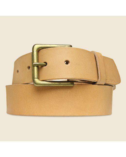 Billykirk | Roller Bar Belt - Natural for Men | Lyst