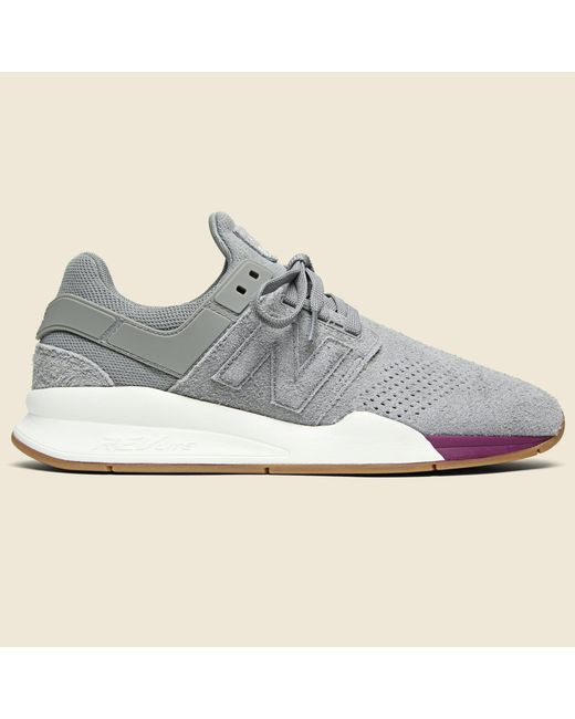 d6ffa9176dd5e New Balance 247 Suede Sneaker - Marblehead for Men - Save 27% - Lyst
