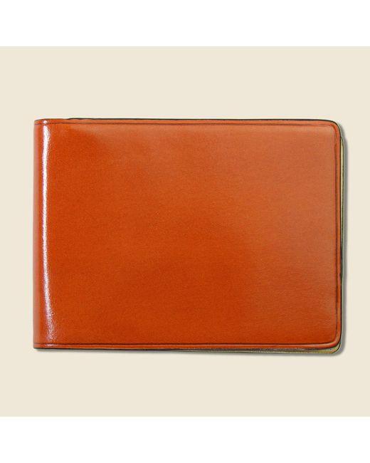 Il Bussetto Small Bi-fold Wallet - Orange for men