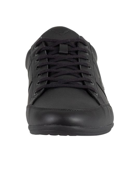 Lacoste Chaymon Leather Trainers Shoes
