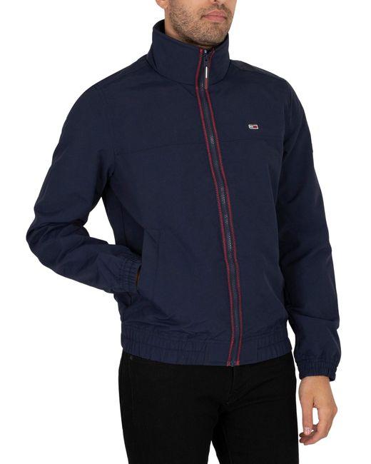 Tommy Hilfiger Blue Essential Casual Light Jacket for men