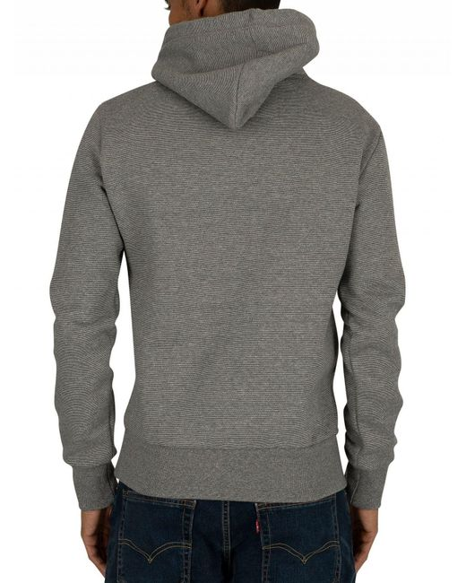 competitive price f764e 4bfdc Superdry Hammer Grey Feeder Orange Label Classic Pullover ...