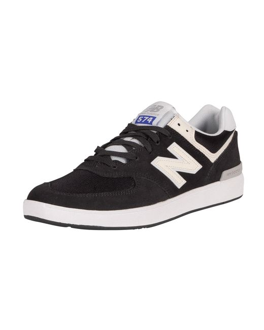 New Balance Multicolor All Coasts 574 Suede Trainers for men