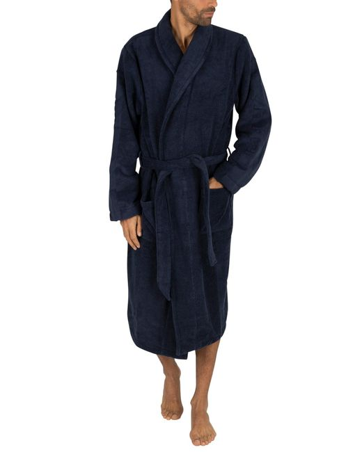 Calvin Klein Blue Robe for men