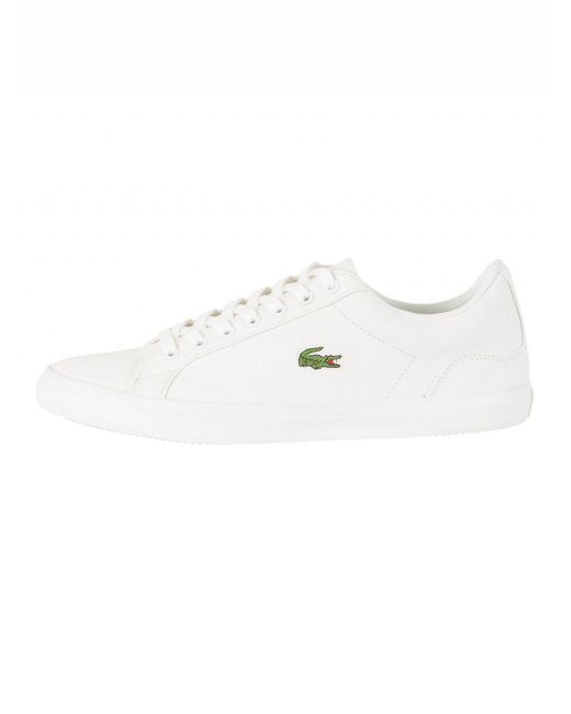 9382ed32d ... Lacoste - White Lerond Bl 2 Cam Trainers for Men - Lyst ...