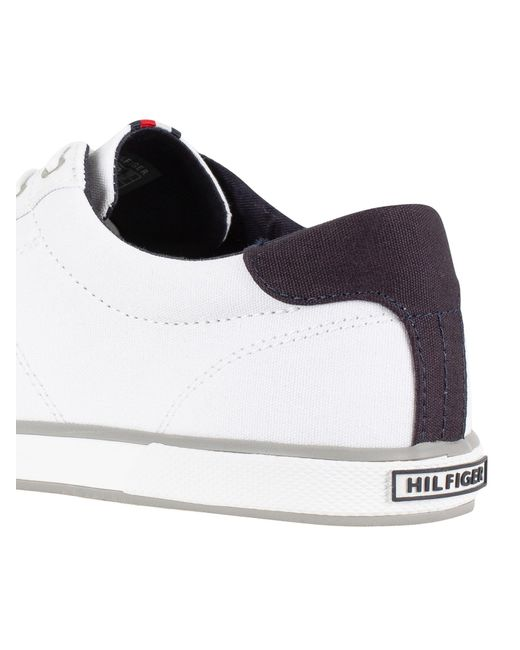 Tommy Hilfiger Canvas Flag Trainers in